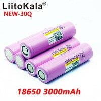 Image 3 - 8PCS חדש LiitoKala 100% מקורי INR 18650 סוללה 3.7V 3000mAh INR18650 30Q ליתיום נטענת סוללות