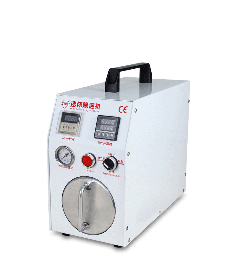 Built-in vacuum pump Mini Autoclave Bubble Remover OCA Adhesive Sticker LCD Air Bubble Remove Machine for Glass Refurbishment все цены