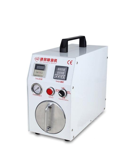 Built-in vacuum pump Mini Autoclave Bubble Remover OCA Adhesive Sticker LCD Air Bubble Remove Machine for Glass Refurbishment
