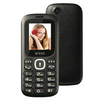 Original Ipro Mobile Phone I3185 1 8 Screen 32M Dual SIM Bluetooth Unlocked Feature Cell Phones