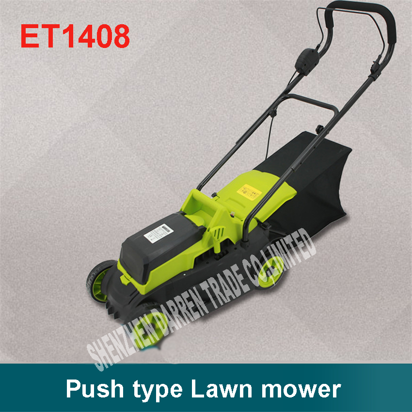 ET1408 24 V Electric <font><b>Lawnmowers</b></font> /Hands Push-type Grass Cutter/Cordless <font><b>Lawnmowers</b></font> 320MM Cutting length 3850r/min Push Lawn Mower