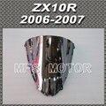 Motor For Kawasaki ZX10R 2006 2007 06 07 Windshield/Windscreen Silver Motorcycle Part New