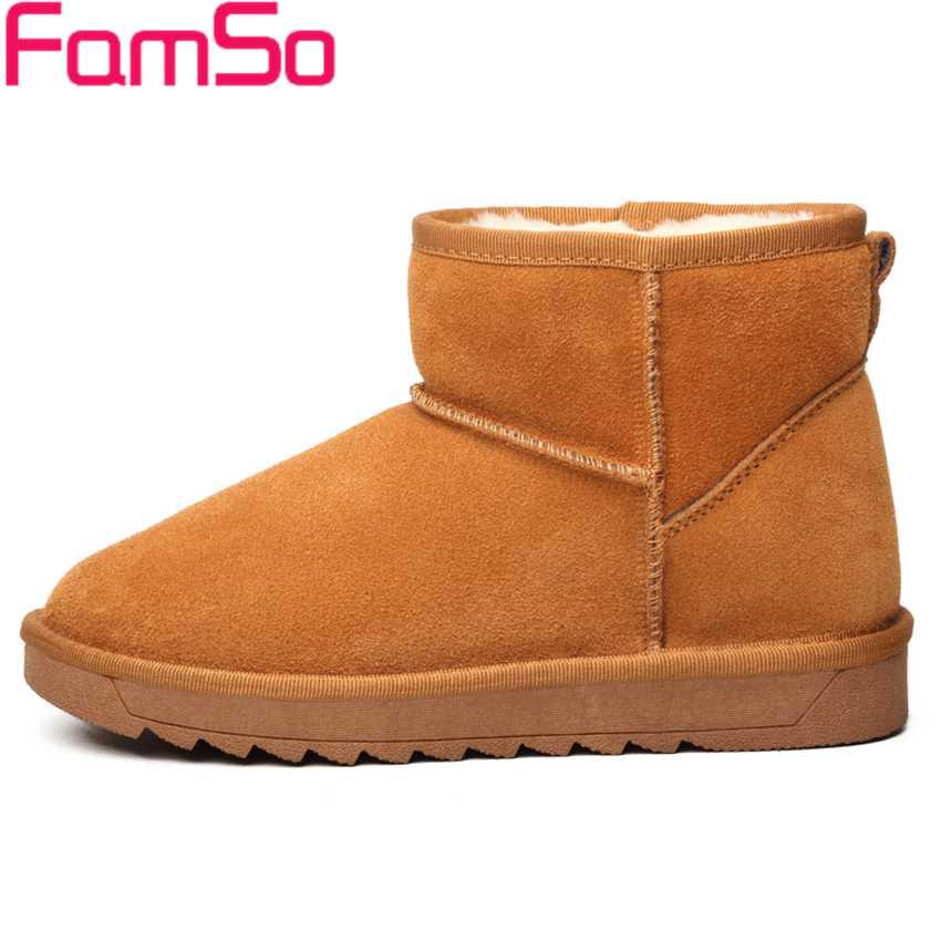 Big Size34 43 2016 new Fashion font b Women s b font Boots Black red Designer