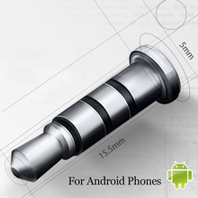 Смарт-клавиши klick dust быстрого наушников кнопка galaxy мобильный android разъем samsung