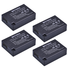 4-Pack LP-E17 LPE17 LP E17 Rechargeable Battery for Canon For EOS M3 M5 750D 760D T6i T6s 800D 8000D Kiss X8i Cameras