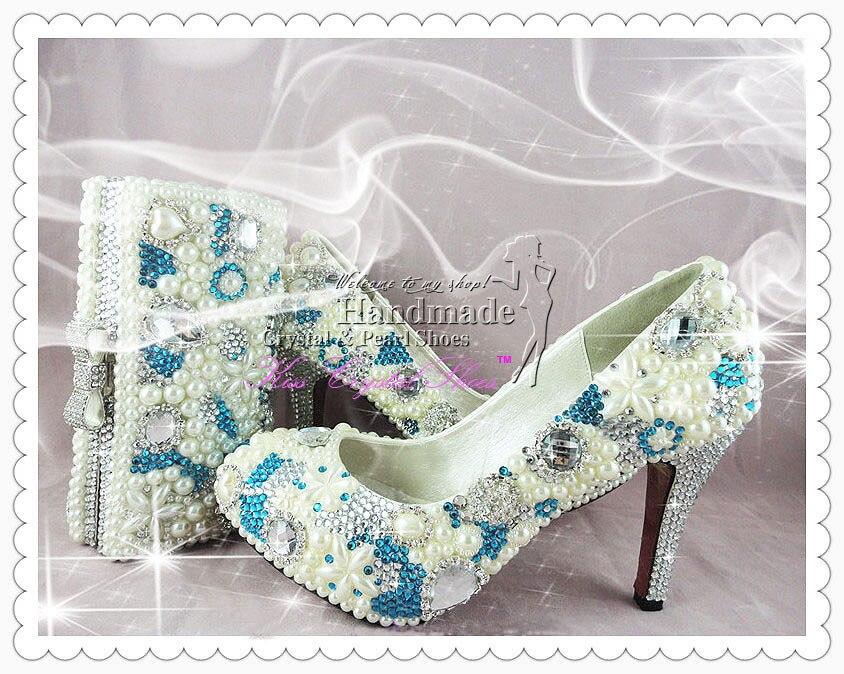Navy Blue Wedding Shoes Something Blue Medium Heel Beautiful