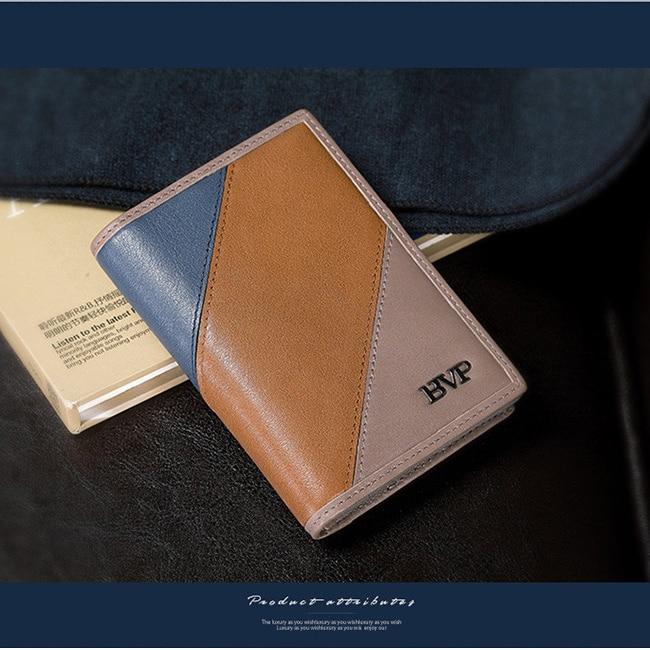 BVP - High-end מתנה עסקית כרטיס אשראי מחזיק - ארנקים