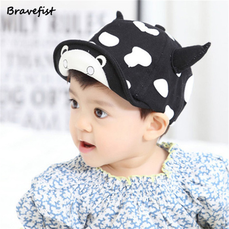 Retail Cow 6 24 Moths Year Infant Hats Beauty Snapback Outdoor Baby Golf  Caps Boy Girl Summer Sports Net Baseball Cap -in Hats   Caps from Mother    Kids on ... 3941b9ac539