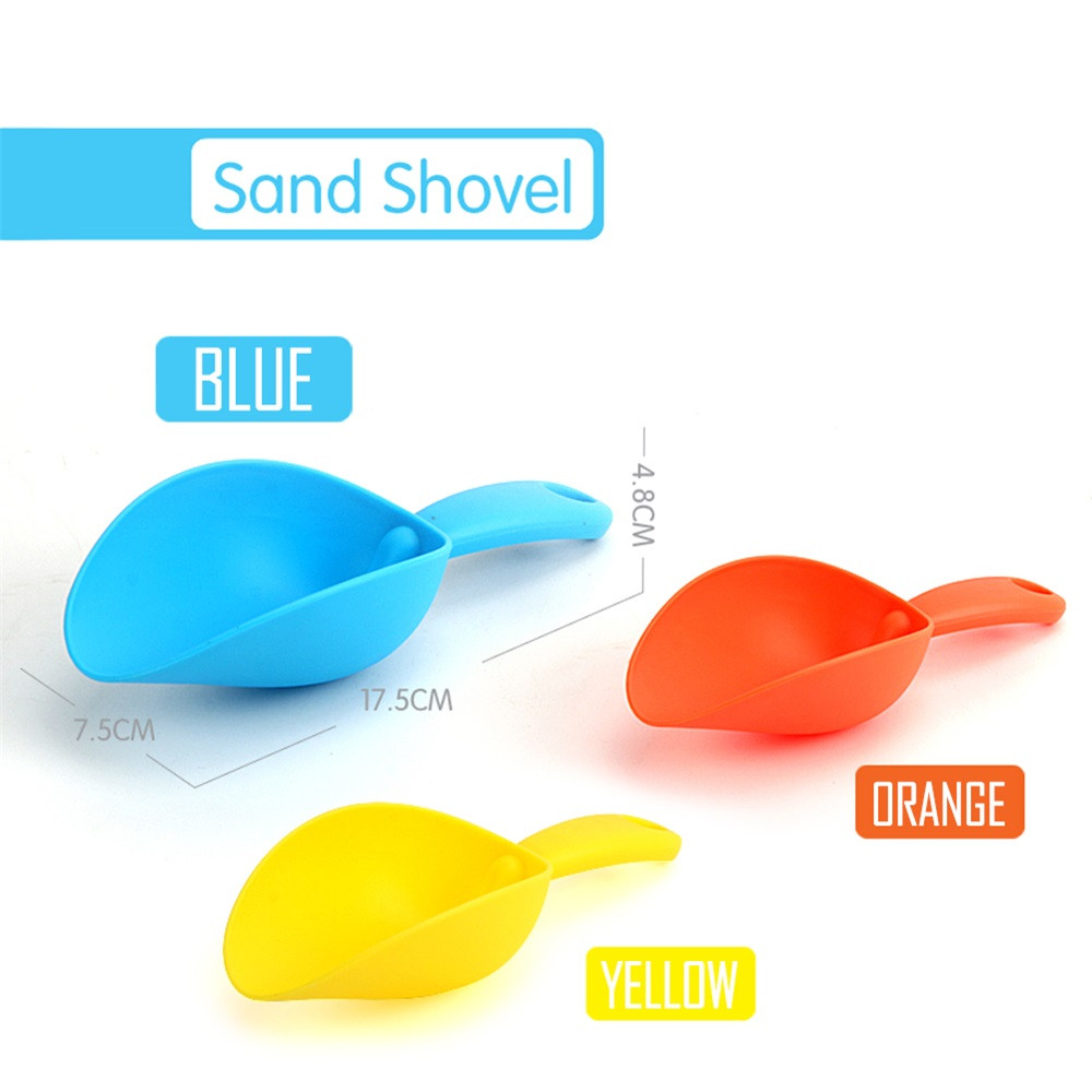 Huang Neeky #501 2019 NEW Play Sand Water Plastic Toys Tool Sand Shovel Summer Toys Beach Toy Gift For Kids Funny Free Shipping