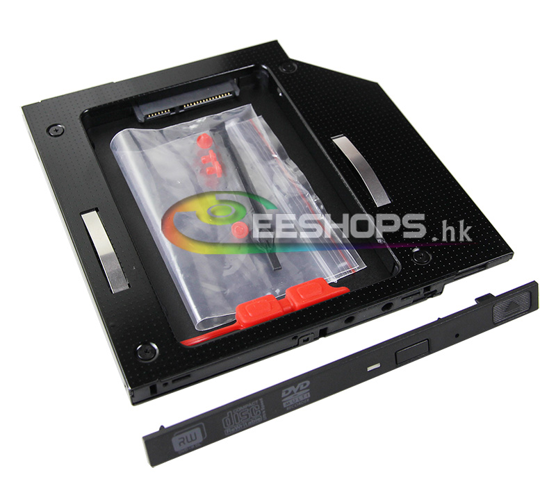 Laptop 9 5mm SATA 3 2nd HDD SSD Caddy 6Gbps Second Solid State Hard font b