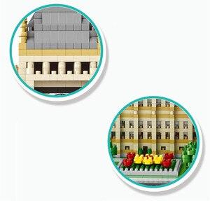 Image 4 - Blocs de construction, 3600 pièces, série architecturale londonienne, Big Ben à assembler, blocs de construction, briques compatibles avec toutes les marques