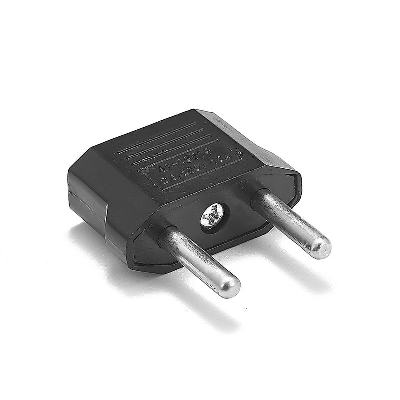 500pcs EU European Power Adapter Universal American US To EU European Plug Travel Adapter AC Converter Electrical Outlet Socket