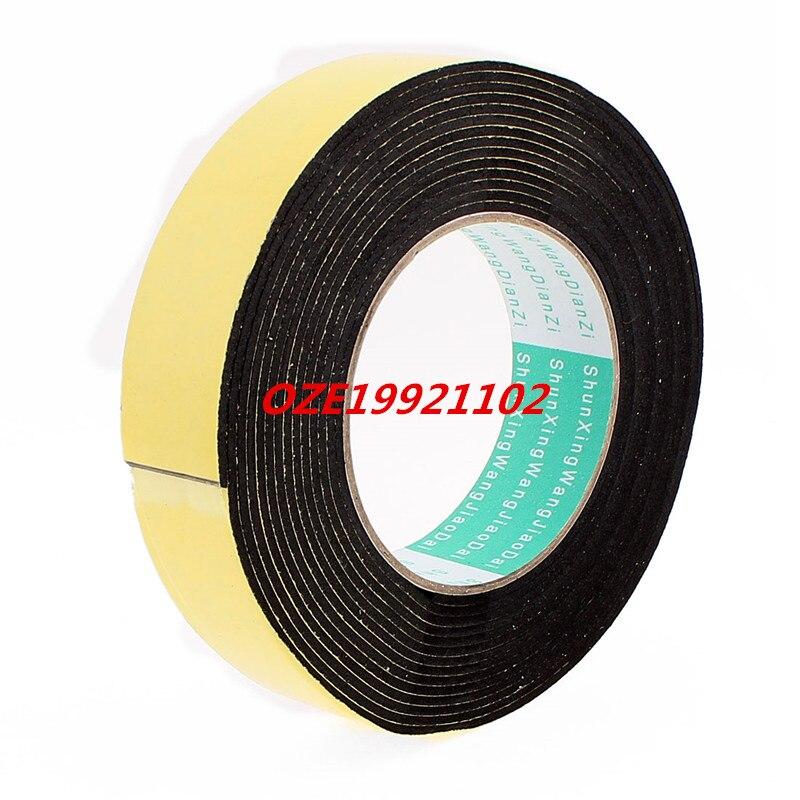 1PCS 5 Meters 30mm x 2mm Single Side Adhesive EVA Foam Sealing Tap 85mm 33 meters 0 08mm single side high