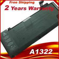 Genuine Original Laptop Battery A1322 For APPLE MacBook Pro 13 Unibody A1278 Mid 2009 2010 2011