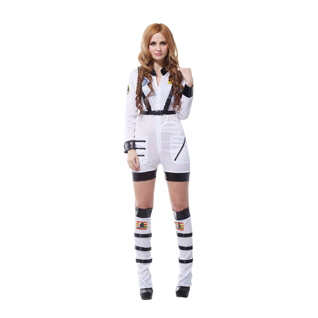 a3df31ce7a40 Fantasias halloween costumes for women plus size party Cosplay Adult  astronaut costume adult space suit costume Dress Clothes