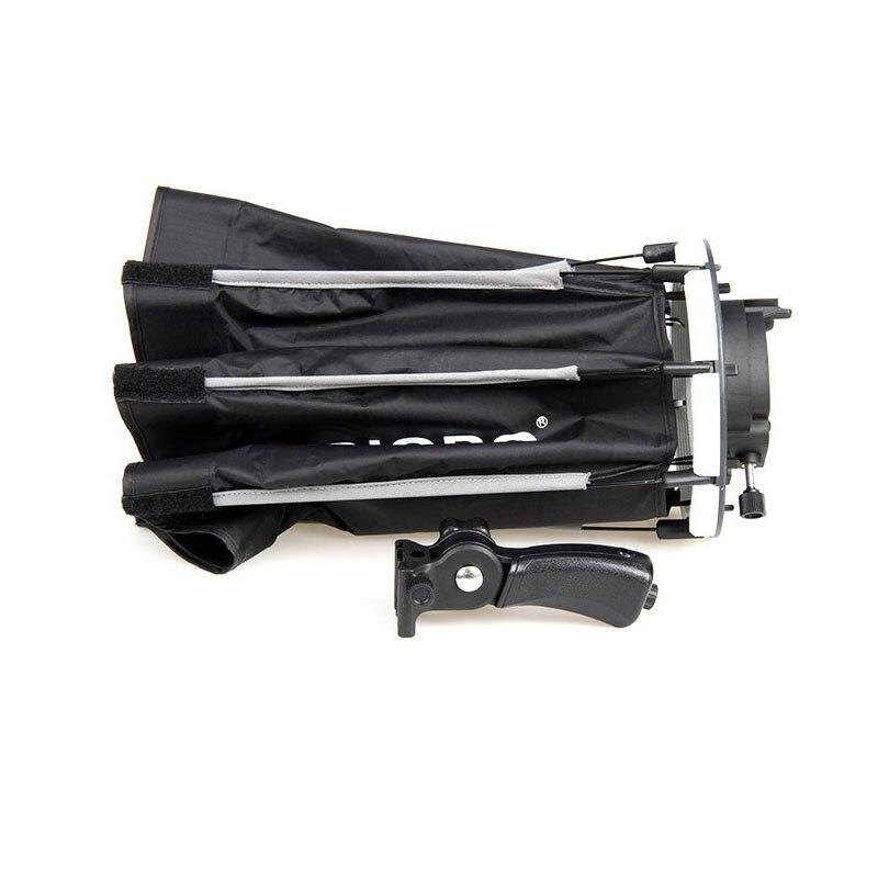 TRIOPO 65 cm Portable En Plein Air Octogone Parapluie Softbox pour Godox V860II TT600 TT685 YN560 III IV TR-988 1 flash Soft Box - 5