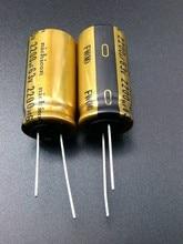 все цены на 30PCS Nichicon FW 2200uF/63V genuine spot 2200uf 63v for capacitor free shipping онлайн