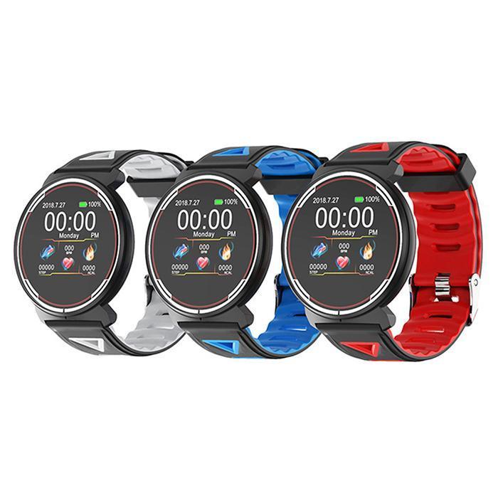 ST1 bande intelligente traqueur de fréquence cardiaque Fitness TrackerIP68 étanche Bracelet intelligent étanche Bracelet intelligent montre intelligente hommes