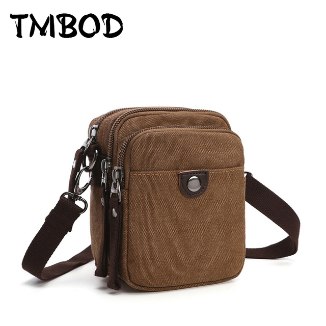 New 2019 Design Men Canvas Small Messenger Bag High Quality Casual Handbags Crossbody Shoulder Bags Military bolsa an682
