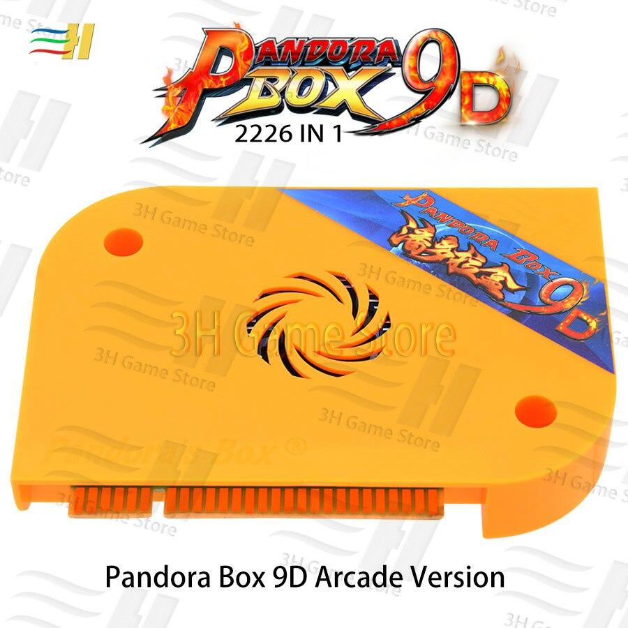 2019 Pandora Box 9D 2226 in 1 arcade version jamma game board HDMI VGA for coin