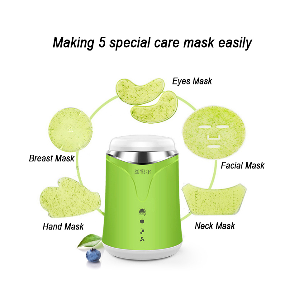 Face Mask Machine Automatic Fruit Vegetable Facial Mask Maker DIY Natural Mask With Collagen Beauty Care Machine Health Spa китайский чай ningxia goji berry fruit health beauty 250g f170