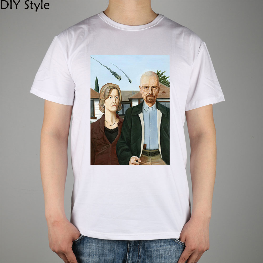 A Skyler White divisão de TV Breaking Bad Walter T-shirt 10669 Moda Marca t  shirt dos homens novos de alta qualidade DIY 3b835bd3ebf