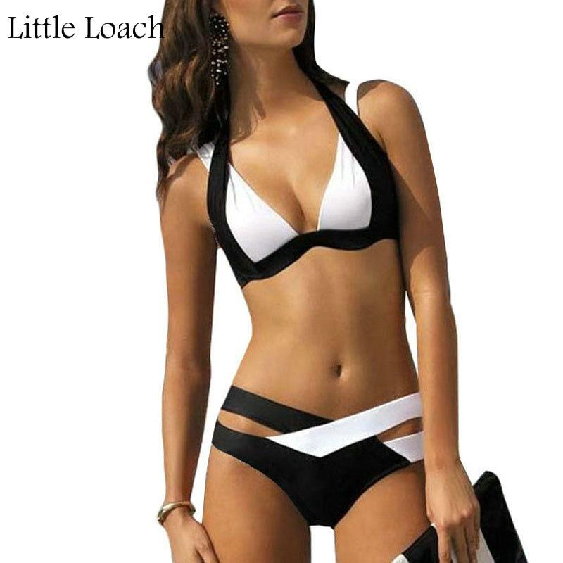 2016 Әйелдер Bikini Set Plus мөлшері Bikini Sexy - Спорттық киім мен керек-жарақтар - фото 1