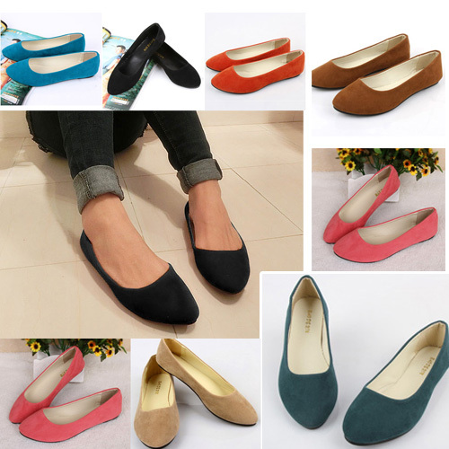 Pointed Toe Flat Shoes