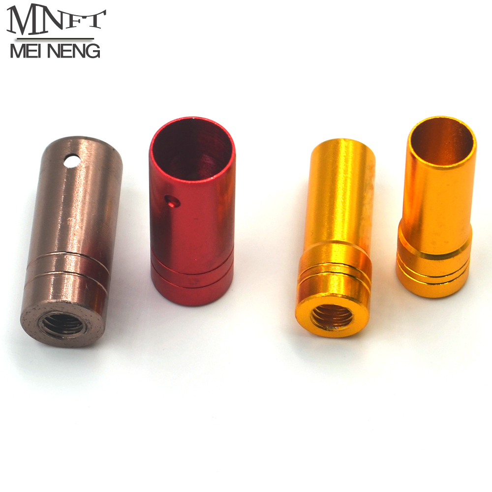 MNFT 1Pcs M8 Screw Net Handle Thread Adapter Fishing Rod Converted Into Dip Net Head Connector 2 Style Inside Diameter 10mm 12mm