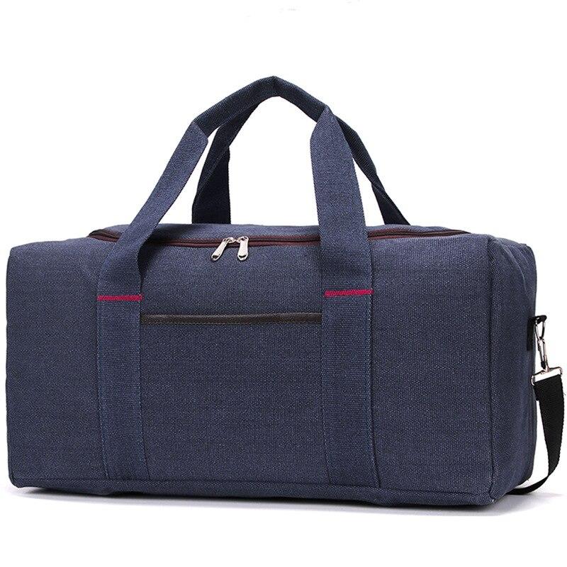 Women Men Unisex Big Travel Bag Handbag Beach Shoulder Bag Crossbody Bag Canvas Large Capacity Fashion Couples Duffel Package