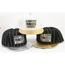 Kid Boy Baseball Caps Fashion Design NEW YORK Hat For Children Girl Outdoor Hip Hop Handsome Street Dance
