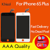Khisol 6SPlus AAA Grade LCD Display Touch Screen Digitizer For iPhone 6s Plus Phone Replacement Assembly Display Screen