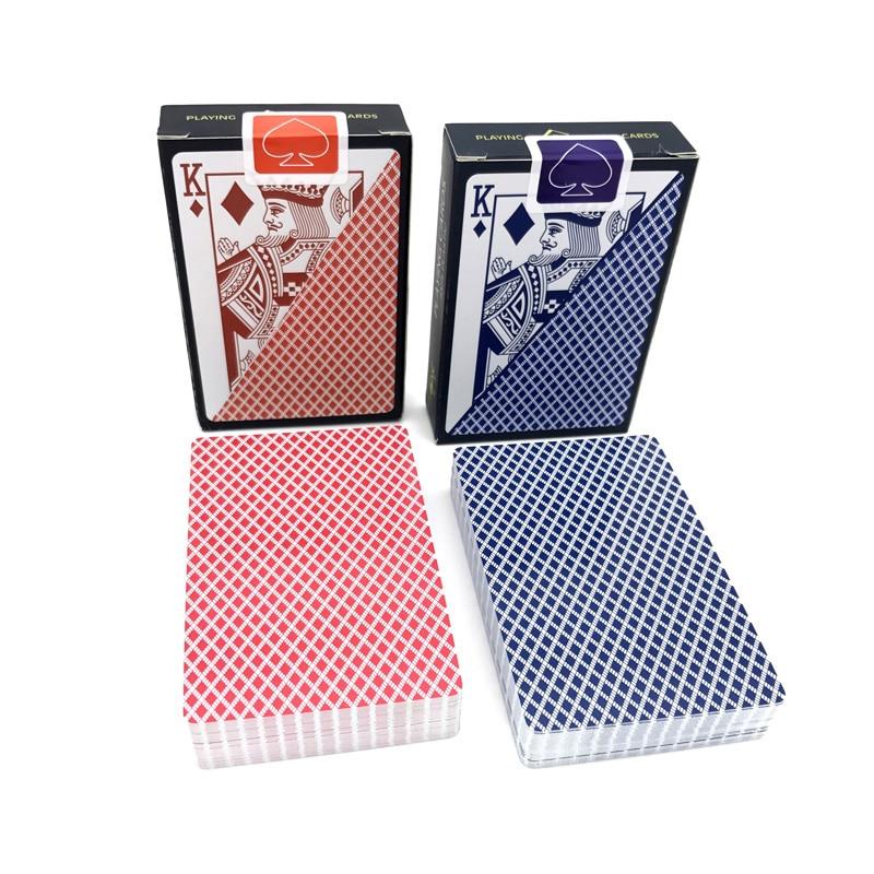2 set/lote alta calidad poco cartas puente Baccarat Texas Hold'em de Poker impermeable tablero de naipes juegos 58mm * 88mm Estante de almacenaje para cocina de 2/3/4 capas, Torre deslizante delgada, montaje movible, estante de plástico para baño, ruedas organizador de ahorro de espacio
