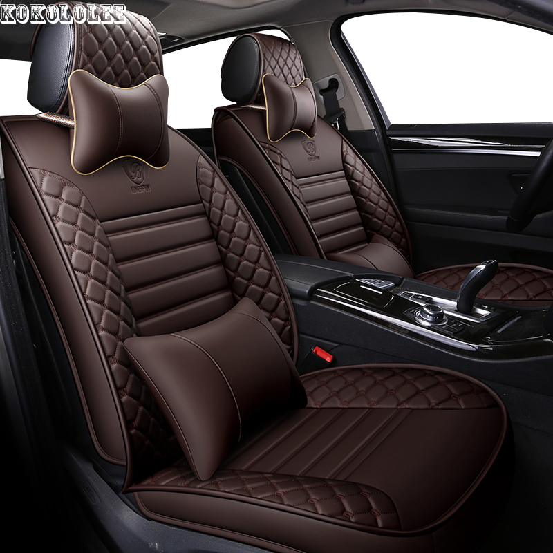 [Kokololee] housse siège auto en cuir synthétique polyuréthane pour lifan solano x50 cadillac escalade toyota vitz mini changan cs35 accessoires auto
