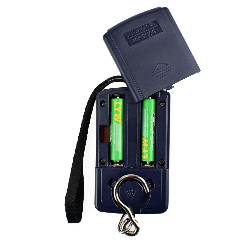 Bilancia pesapersone digitale portatile NEWACALOX da 40 kg / 88 - Strumenti di misura - Fotografia 5