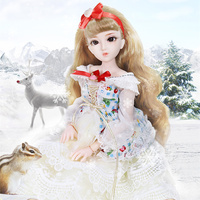Fortune Days Diary Queen 1/4 BJD Blyth doll joint body Snow with makeup including clothes, shoes, hair and gift box toy ICY,SD