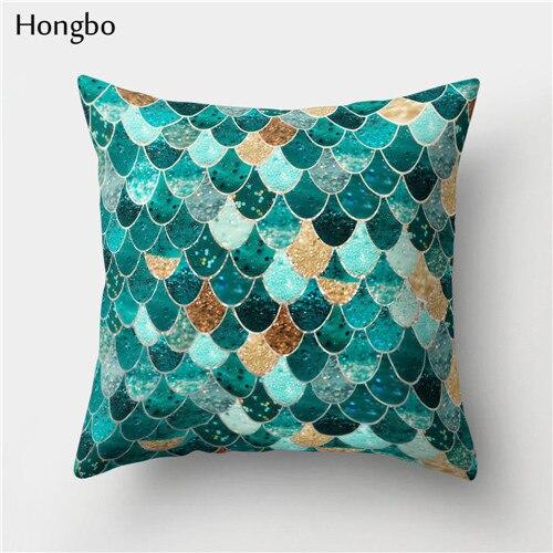 Phenomenal Hongbo 1 Pcs Mermaid Fish Scale Pillow Case Cushion Cover Bed Pillowcase For Car Sofa Seat Home Decor Creativecarmelina Interior Chair Design Creativecarmelinacom