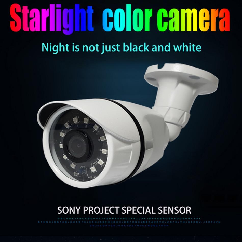 jvtsmart H.265+ IP Camera SONY IMX307 1080P 2.8mm 3.6 mm ONVIF Starlight 48v poe network ipcam metal XMEye 12V  xm CCTV outdoor