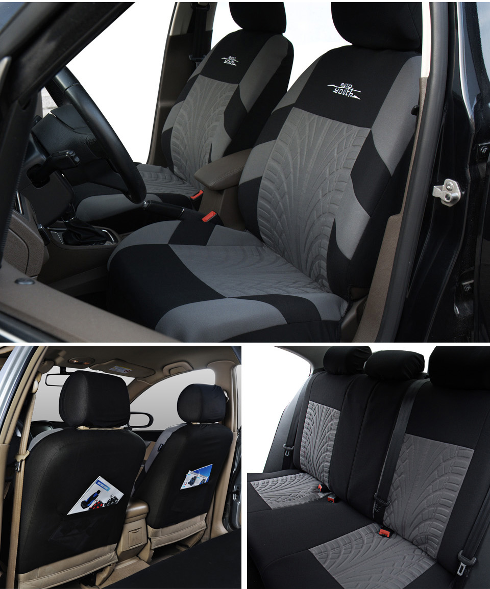 Embroidered Universal Car Seats 8
