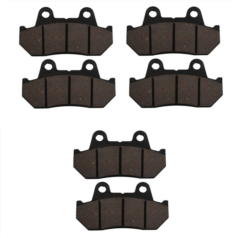 Motorcycle Parts Front & Rear Brake Pads Kit For HONDA GL1200 GL 1200 Goldwing 1984 1985 1986 1987 Brake Disk бутсы зальные nike nike ni464akufs18