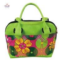 High Quality Bazin Riche African Wax Prints Fabric Women Fashion Hand Bag for Party Super Wax Hollandais with Hand Bag WYB410