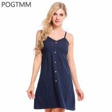 Сексуальная ночная рубашка кнопка кружева пижамы рубашки женские домашние ночь носить платье ночную рубашку платье Ночная рубашка белая сорочка xxl