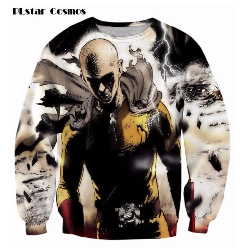 Plstar Cosmos Rainbow Paint Naruto 3d Sweatshirt Mens Ninja Anime