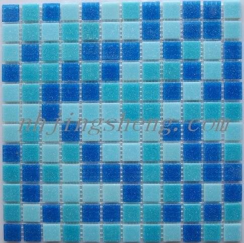 2012 Hot Sale Swimming Pool Glass Mosaic Tile jsm-273