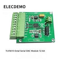 Модуль TLV5610 Octal Последовательный ЦАП Модуль TLV5610 / TLV5608 / TLV5629 Демонстрационная