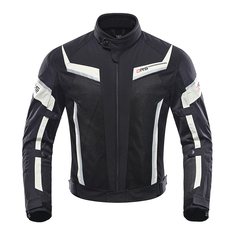 DUHAN Summer Men Motorcycle Jacket Pants Motorbike Clothes Moto Motocross Jacket Pants Trousers Suits With CE Protector Gear