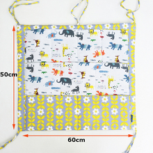 Muslin Tree Bed Hanging Storage Bag Baby Cot Bed Brand Baby Cotton Crib Organizer 50*60cm Toy Diaper Pocket for Crib Bedding Set