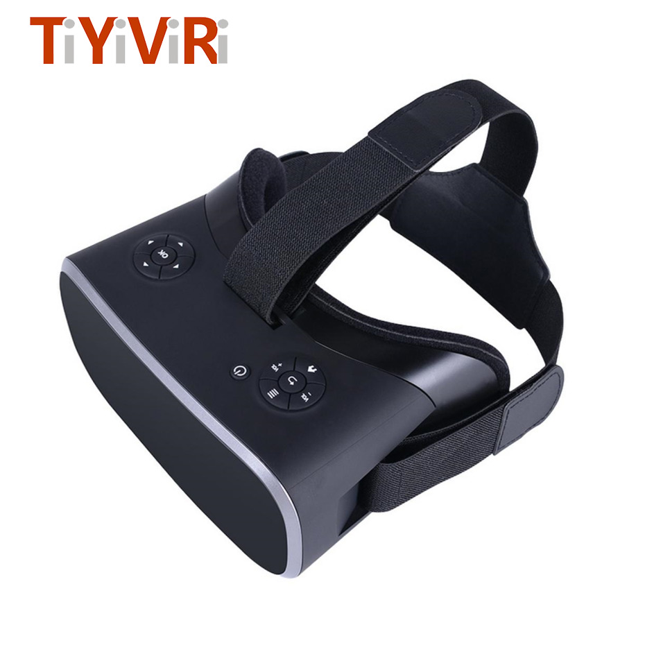 VR 3D Glasses All In One Headset Virtual Reality 2K Binocular Wireless Bluetooth HDMI