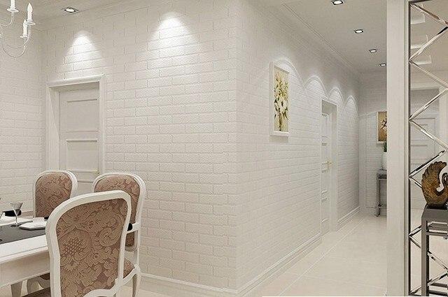 Aliexpress.com: Acheter Moderne Simple Style 3D Crémeux Blanc Mur ...