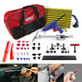 WHDZ PDR набор инструментов  инструменты для ремонта вмятин на автомобиле горка Молот Pdr доска Dent Puller клеевой пистолет клей вкладки с сумкой